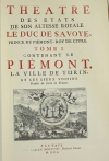Theatre des états de Savoye et de Piémont - 1964 - Photo 1 - livre moderne