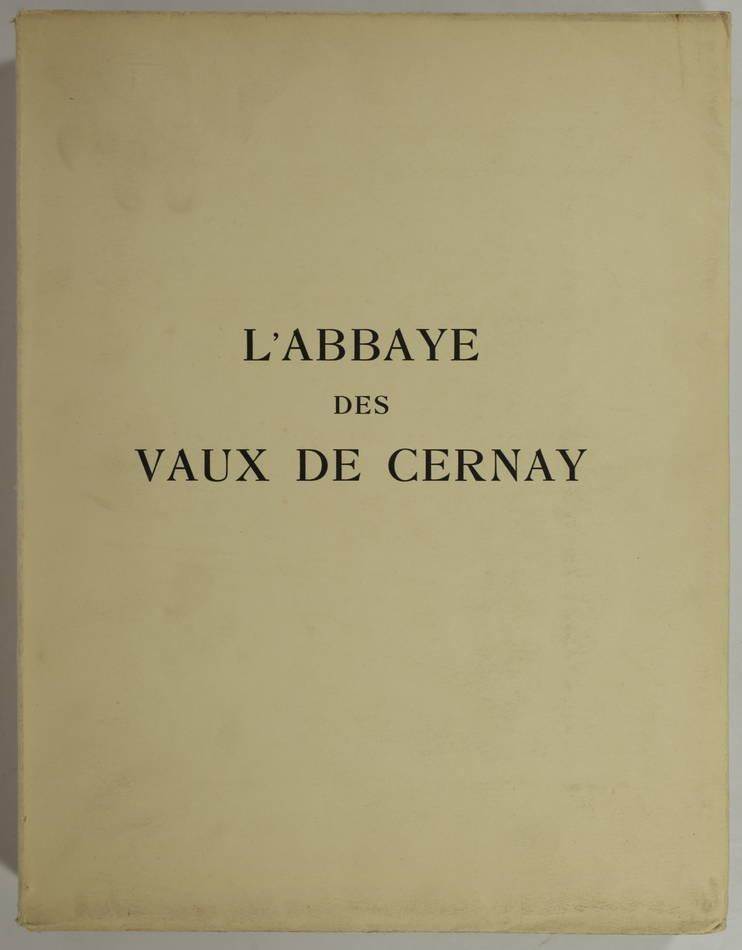 Aubert et Verrier - Abbaye des Vaux de Cernay - 1931 - 1/300 Arches - Photo 0, livre rare du XXe siècle