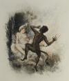 [Curiosa] VERLAINE - Poèmes d amour - 1946 - pointes-sèches en couleurs de Becat - Photo 0 - livre moderne