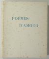 [Curiosa] VERLAINE - Poèmes d amour - 1946 - pointes-sèches en couleurs de Becat - Photo 1 - livre moderne