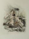 [Curiosa] VERLAINE - Poèmes d amour - 1946 - pointes-sèches en couleurs de Becat - Photo 2 - livre moderne