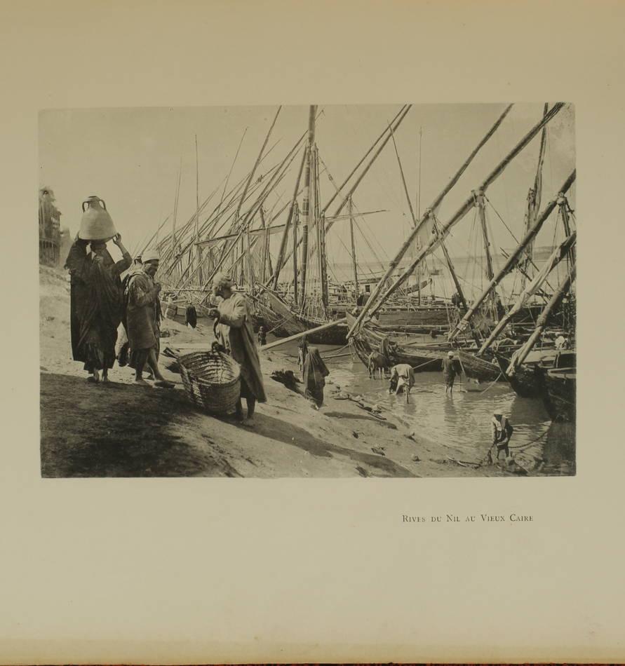 LALLEMAND - Le Caire - 1894 - Préface de Pierre Loti - Planches - Photo 2, livre rare du XIXe siècle