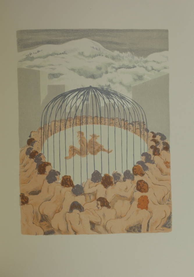 CYRANO de BERGERAC - L autre monde - 1935 - Lithographies de André Girard - Photo 0 - livre de collection