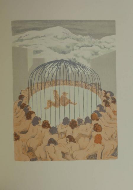CYRANO de BERGERAC. L'autre monde, livre rare du XXe siècle
