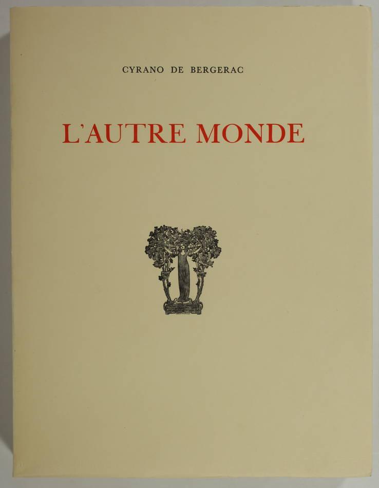 CYRANO de BERGERAC - L autre monde - 1935 - Lithographies de André Girard - Photo 1, livre rare du XXe siècle