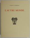 CYRANO de BERGERAC - L autre monde - 1935 - Lithographies de André Girard - Photo 1 - livre moderne