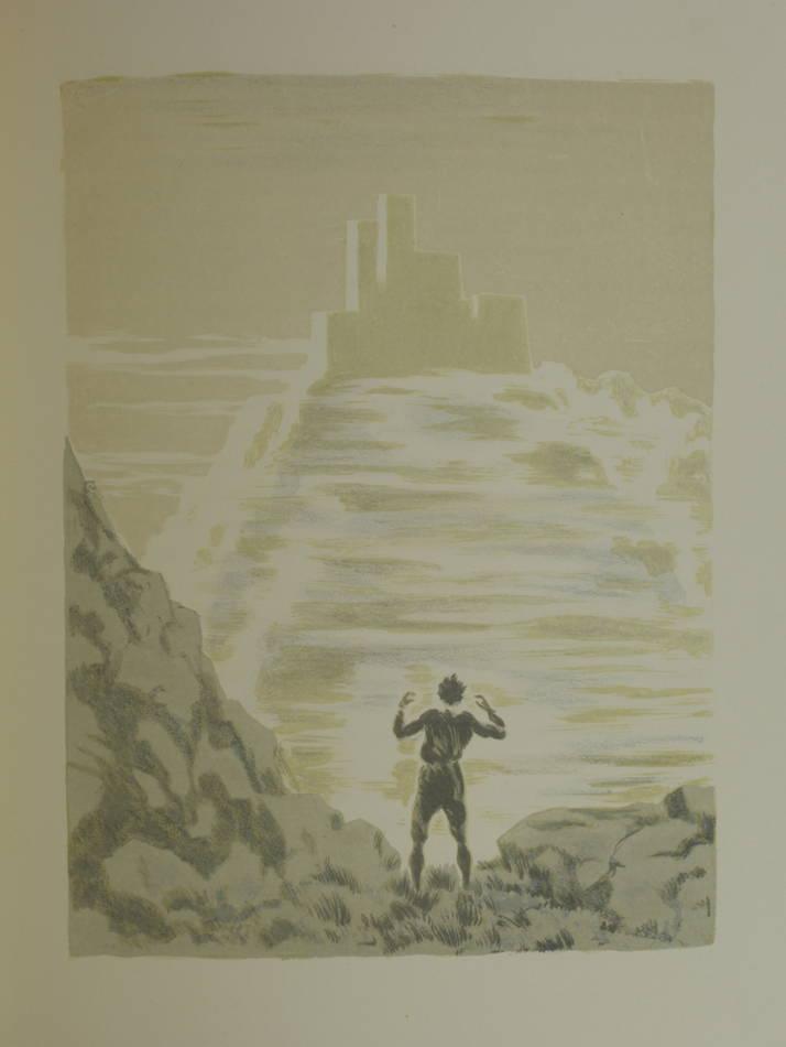 CYRANO de BERGERAC - L autre monde - 1935 - Lithographies de André Girard - Photo 2 - livre de collection
