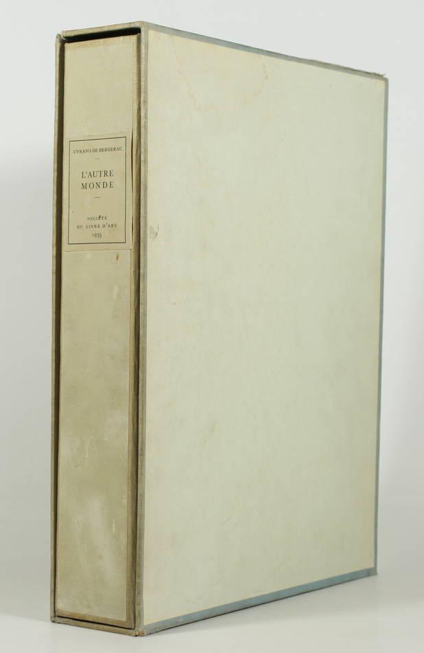 CYRANO de BERGERAC - L autre monde - 1935 - Lithographies de André Girard - Photo 3, livre rare du XXe siècle