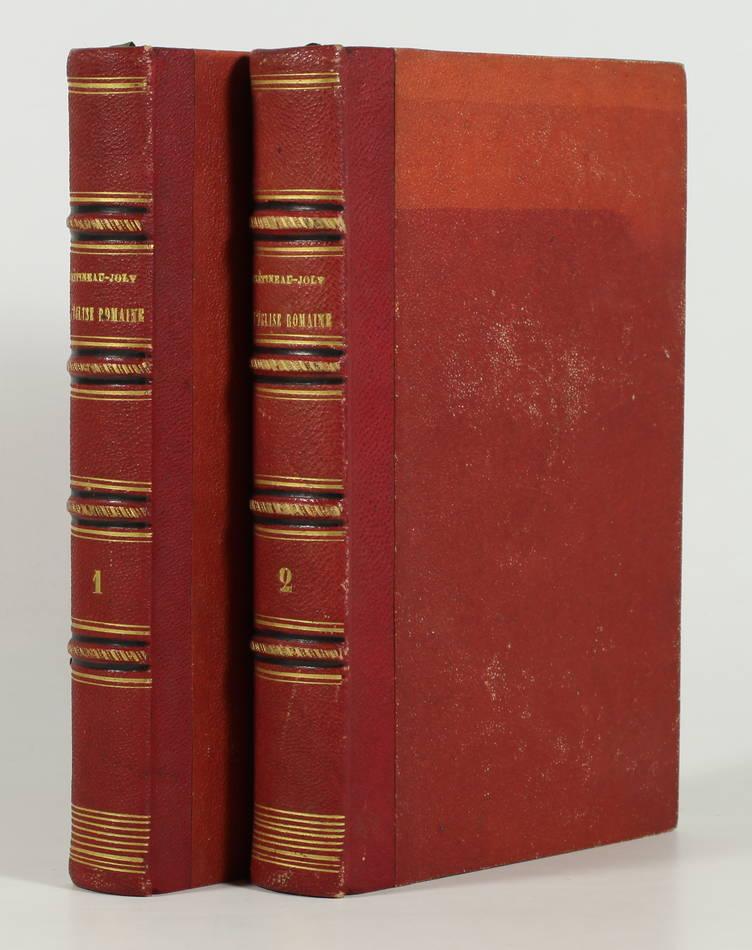 CRETINEAU-JOLY - L église romaine en face de la Révolution - 1859 - 2 volumes - Photo 0, livre rare