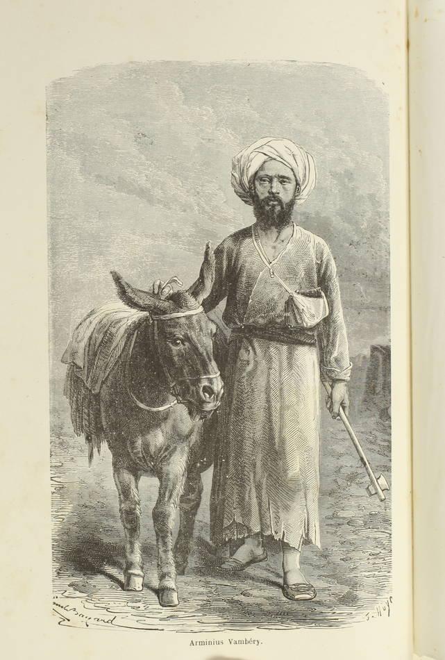 VAMBERY - Voyages d un faux derviche - Asie centrale, Téhéran, Samarcand - 1865 - Photo 0 - livre de bibliophilie