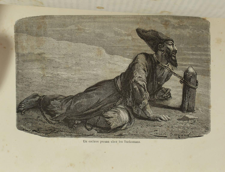 VAMBERY - Voyages d un faux derviche - Asie centrale, Téhéran, Samarcand - 1865 - Photo 2 - livre de bibliophilie