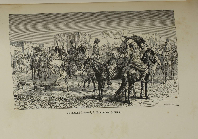 VAMBERY - Voyages d un faux derviche - Asie centrale, Téhéran, Samarcand - 1865 - Photo 4 - livre de bibliophilie