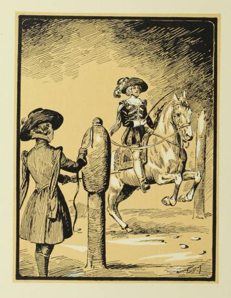 MONTERGON (Commandant de). Les beaux ébats. Joutes, carrousels, haute école, divertissement équestres, livre rare du XXe siècle
