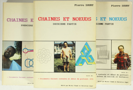 SOURY (Pierre). Chaînes et noeuds, livre rare du XXe siècle