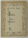 AKWA (Prince Dika). Bible de la sagesse bantoue. Choix d'aphorismes, devinettes et mots d'esprit du Cameroun et du Gabon