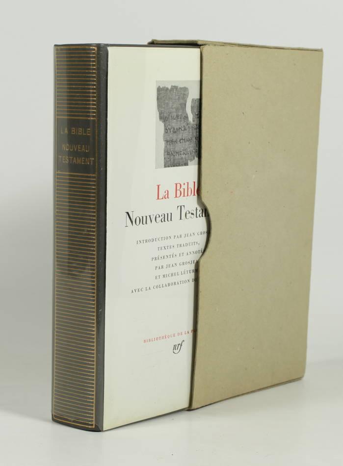 La bible. Nouveau testament - 1986 - Pléiade - Photo 0, livre rare du XXe siècle
