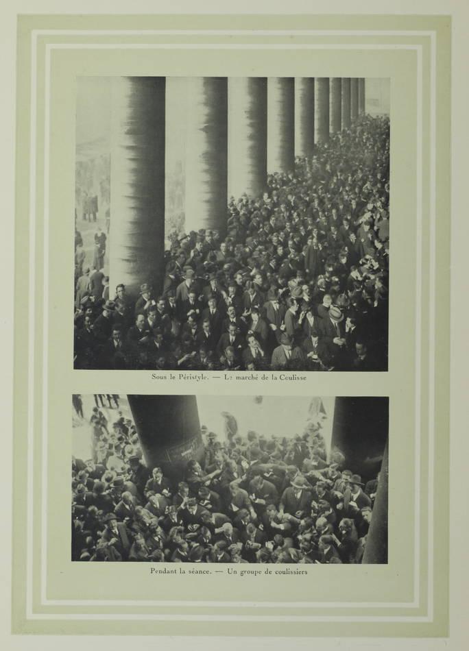 [Finance] La Bourse de Paris - Origines et historique - 1826-1926 - Photo 0, livre rare du XXe siècle