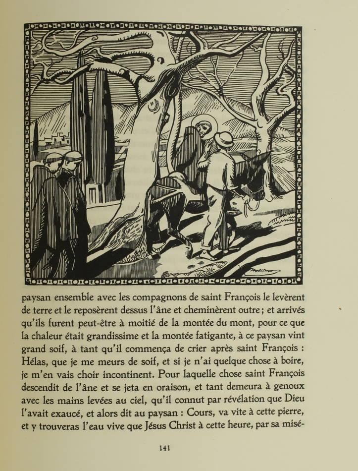 Les petites fleurs de Saint Francois d Assise 1919 - Illustré par Maurice Denis - Photo 1, livre rare du XXe siècle