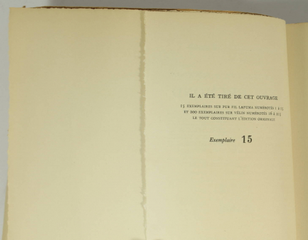 MARTIN du GARD (Maurice). De Sainte-Beuve à Fénélon. Henri Bremond, livre rare du XXe siècle