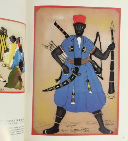 RENAUDEAU (Michel) et STROBEL (Michèle). Peinture sous verre du Sénégal, livre rare du XXe siècle