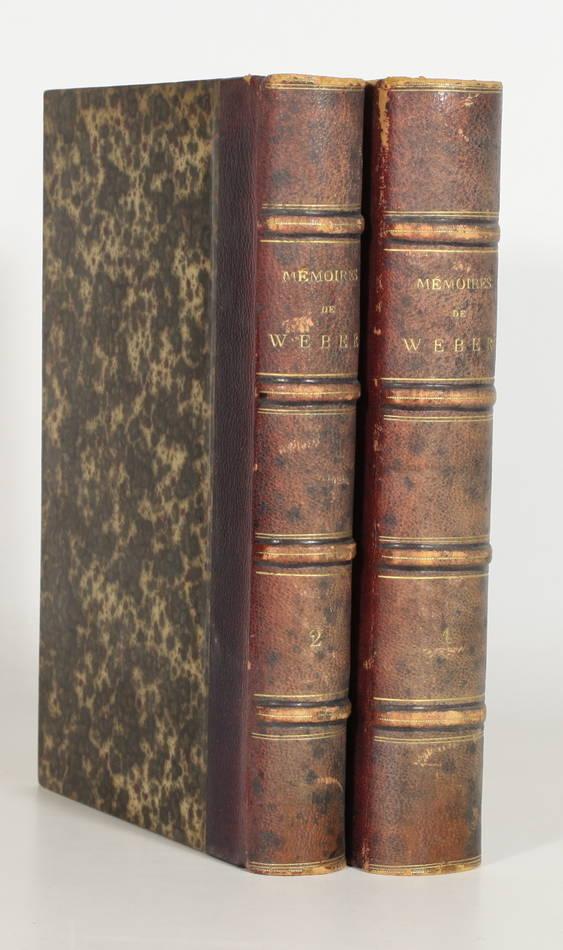 Mémoires de Weber, concernant Marie-Antoinette, archiduchesse et reine 1822 - 2v - Photo 0, livre rare du XIXe siècle