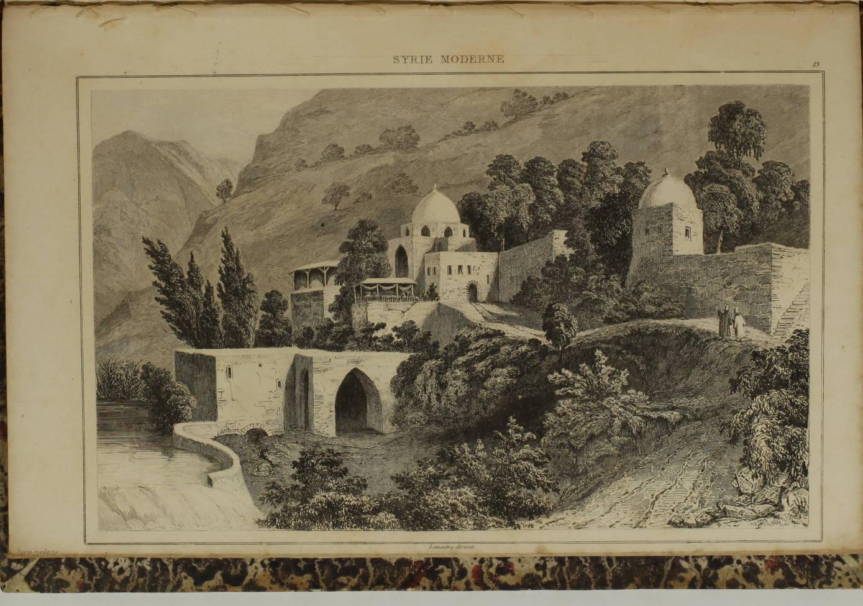 YANOSKY et DAVID - Syrie ancienne et moderne - 1848 - 48 planches - L Univers - Photo 0, livre rare du XIXe siècle