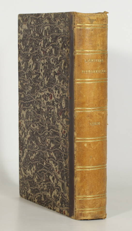 YANOSKY et DAVID - Syrie ancienne et moderne - 1848 - 48 planches - L Univers - Photo 1, livre rare du XIXe siècle