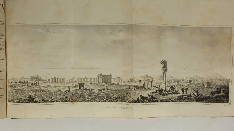 YANOSKY et DAVID - Syrie ancienne et moderne - 1848 - 48 planches - L Univers - Photo 4, livre rare du XIXe siècle