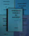 VINCENT (Jacques). Généalogies familiales du Mâconnais