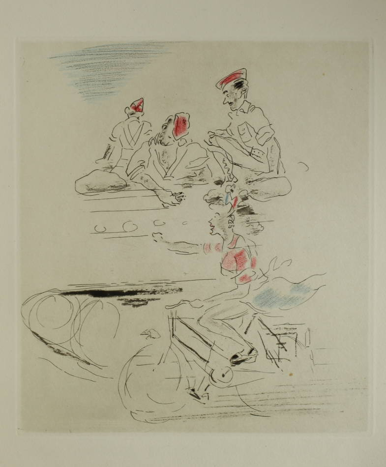 DUHAMEL - Images de notre délivrance 1944 - Claude Lepape - 1/50 Rives - Reliure - Photo 1, livre rare du XXe siècle