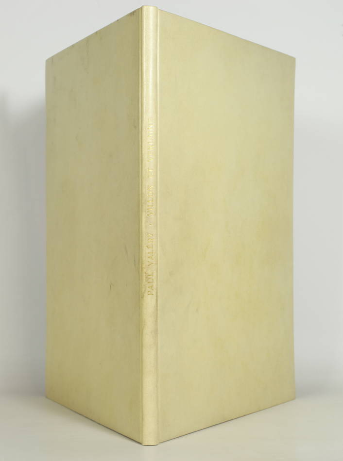 VALERY - Villon et Verlaine - 1937 - EO - Bel exemplaire relié - Photo 0, livre rare du XXe siècle