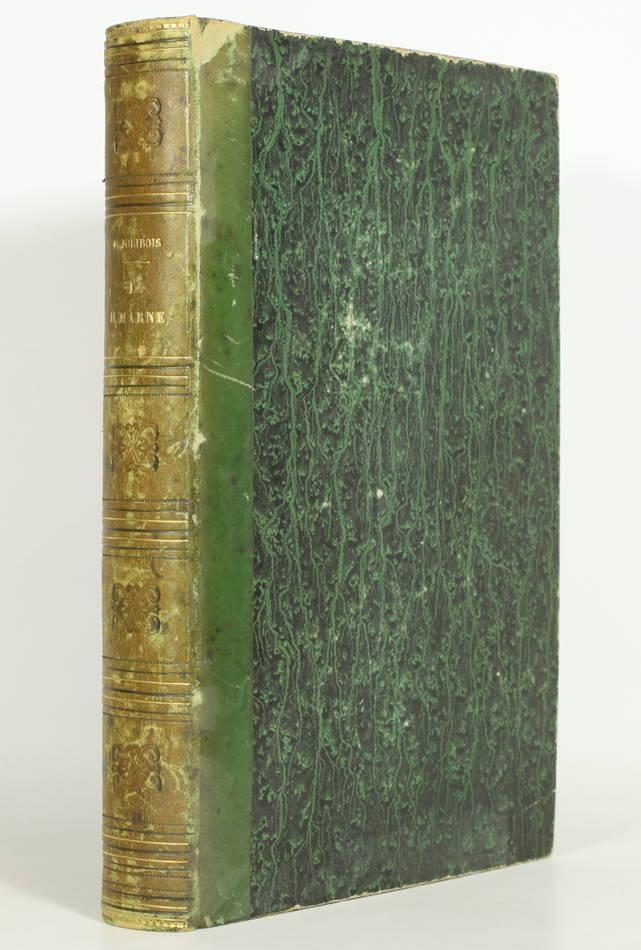 JOLIBOIS - La Haute-Marne ancienne et moderne. Dictionnaire géographique - 1858 - Photo 0, livre rare du XIXe siècle
