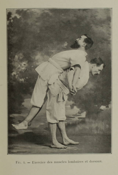 RE-NIE (Professeur) [REGNIER (Ernest) et MONTGAILHARD (Guy de)]. Les secrets du Jiu-Jitsu,