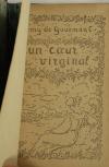 Rémy de GOURMONT - Un coeur virginal - 1907 - EO - Demi maroquin - Photo 1, livre rare du XXe siècle