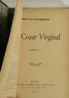 Rémy de GOURMONT - Un coeur virginal - 1907 - EO - Demi maroquin - Photo 2, livre rare du XXe siècle