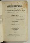 HUC - Souvenirs d un voyage dans la Tartarie, le Thibet, et la Chine 1853 - 2 v - Photo 2, livre rare du XIXe siècle