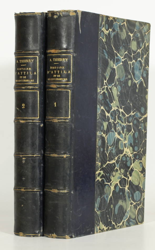 [Huns, Hongrie] THIERRY - Histoire d Attila et de ses successeurs - 1856 - Photo 0, livre rare du XIXe siècle