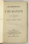 EMERSON - Les représentants de l humanité - 1863 - Photo 1, livre rare du XIXe siècle