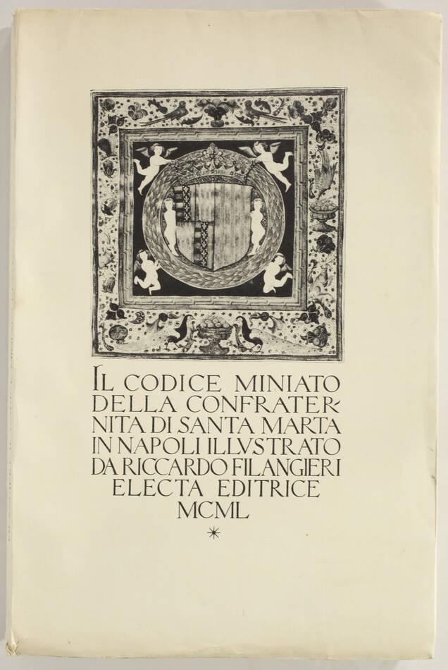 [Héraldique] FILANGIERI - Confraternita di Santa Marta in Napoli - 1950 - Photo 0, livre rare du XXe siècle