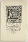 FILANGIERI Riccardo. Il codice miniato della confraternita di Santa Marta in Napoli illustrato da Riccardo Filangieri