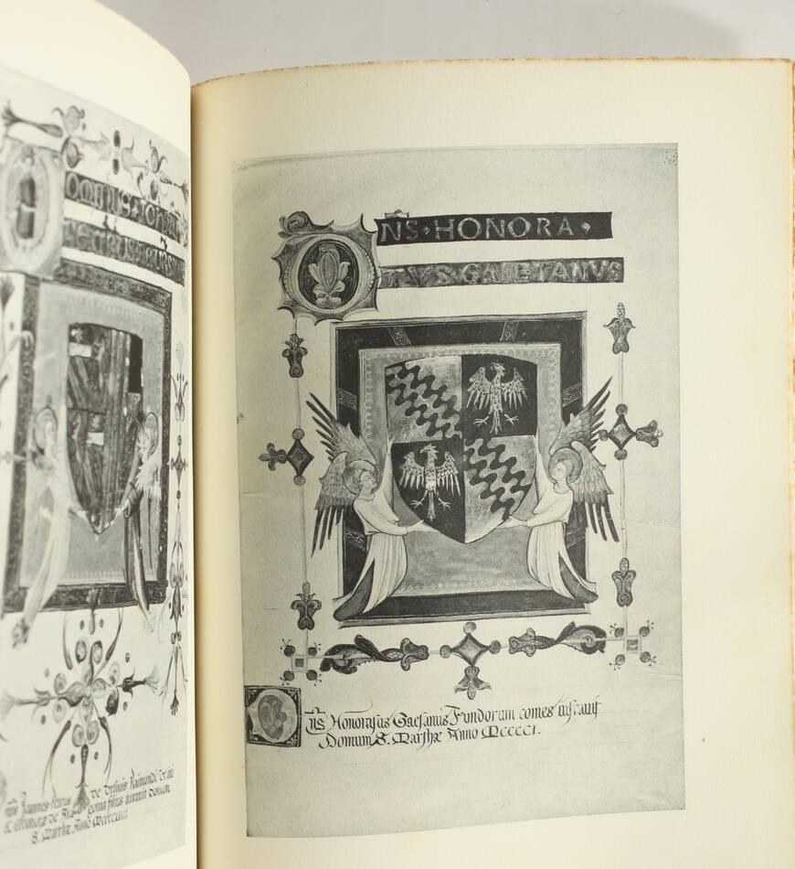 [Héraldique] FILANGIERI - Confraternita di Santa Marta in Napoli - 1950 - Photo 1, livre rare du XXe siècle