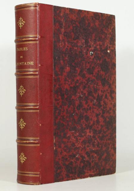 LA FONTAINE. Fables, livre rare du XIXe siècle
