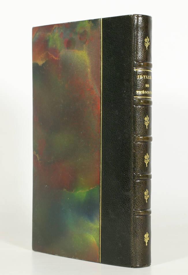 THEOCRITE Idylles et odes anacréontiques Leconte de Lisle - Poulet-Malassis 1861 - Photo 0, livre rare du XIXe siècle