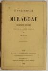 PLAN (Ph.). Un collaborateur de Mirabeau. Documents inédits. Précédés d'une notice