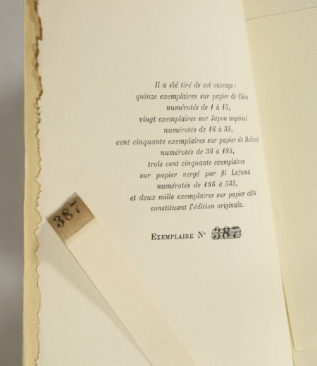 FARRERE (Claude). Le chef, livre rare du XXe siècle