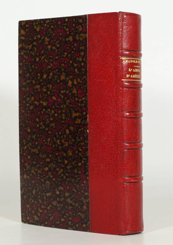 Anatole FRANCE - L anneau d améthyste - 1899 - EO - Maroquin - Photo 0, livre rare du XIXe siècle