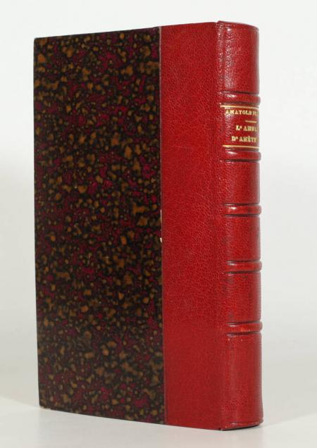 FRANCE (Anatole). L'anneau d'améthyste, livre rare du XIXe siècle