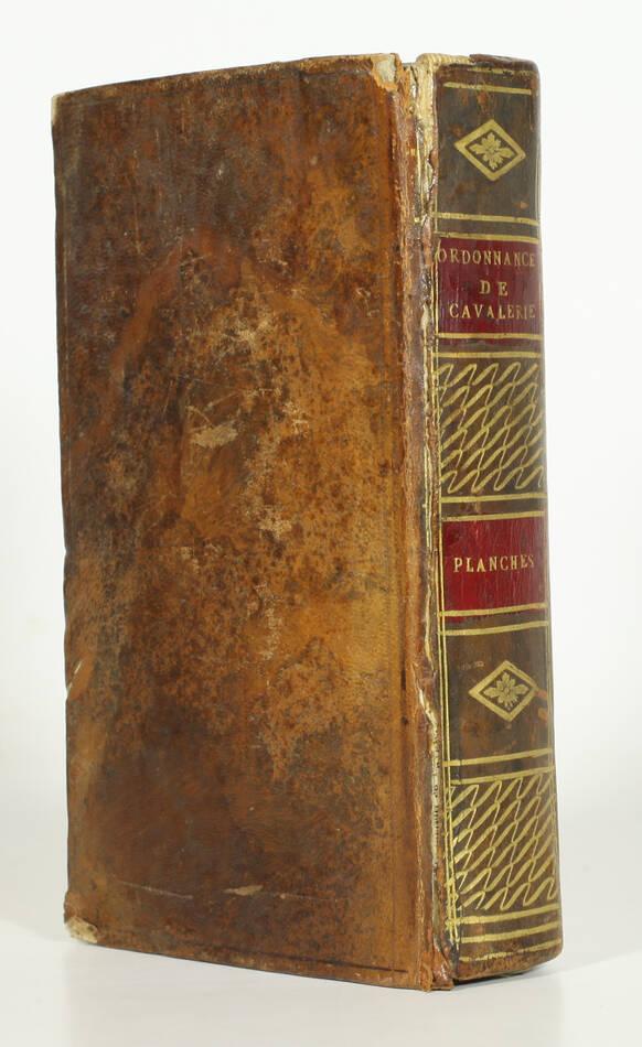 Exercice et manoeuvre de la cavalerie - 128 planches - Magimel, 1813 - Photo 1, livre ancien du XIXe siècle