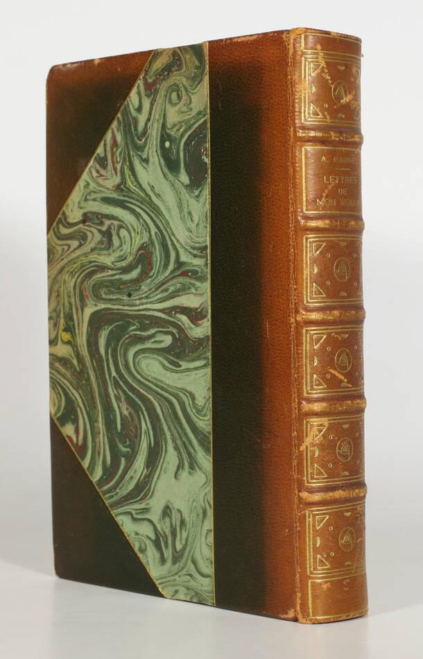 DAUDET - Lettres de mon moulin - 1932 - Lithographie de Altman - 1/30 Japon - Photo 0, livre rare du XXe siècle