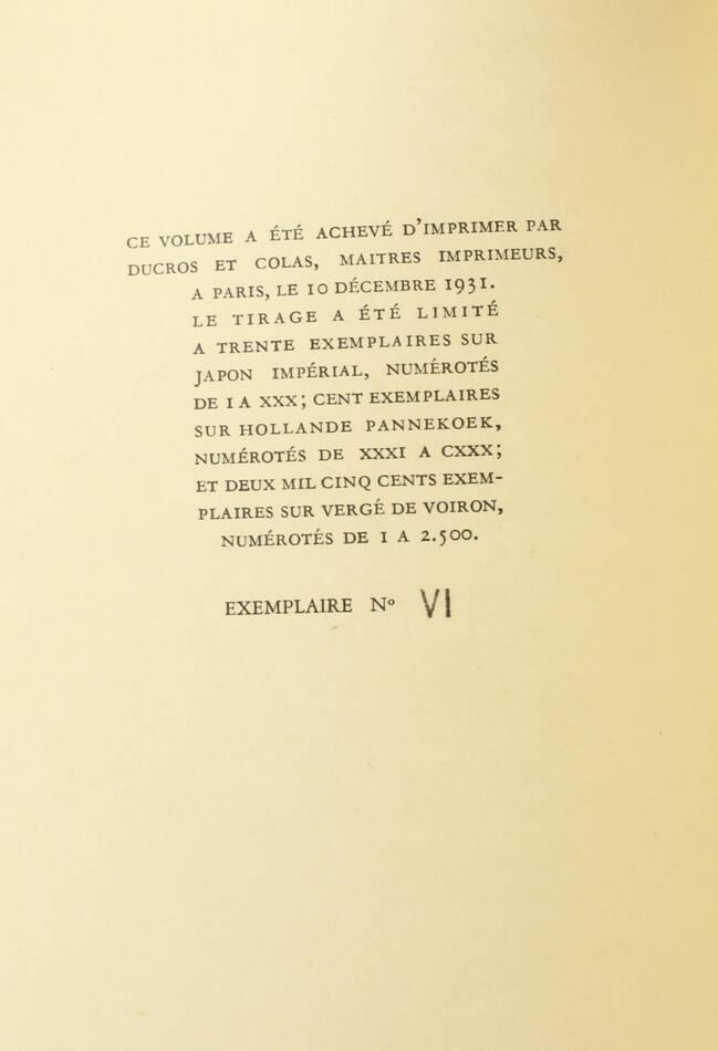 DAUDET - Lettres de mon moulin - 1932 - Lithographie de Altman - 1/30 Japon - Photo 2, livre rare du XXe siècle